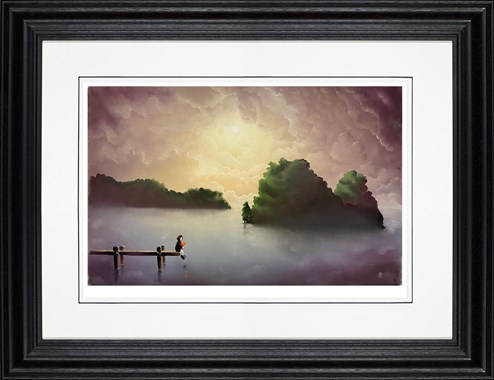 True Love by Mackenzie Thorpe - Framed Limited Edition on Paper